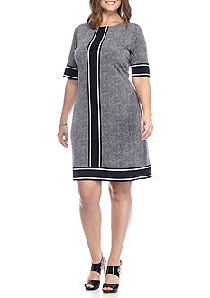 MICHAEL Michael Kors Plus Size Stingray Print Shift Dress