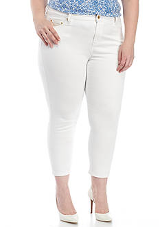 MICHAEL Michael Kors Plus Size Izzy Ankle Skinny Jean