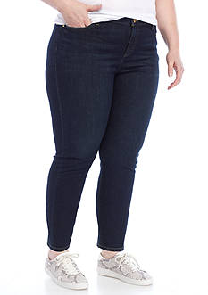 MICHAEL Michael Kors Plus Size Izzy Ankle Skinny Jeans