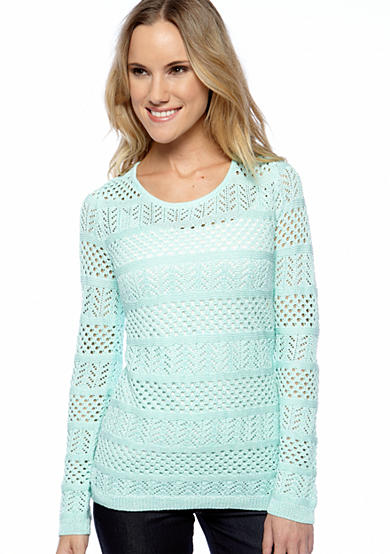 Calvin Klein Open Stitch Pull-Over Sweater