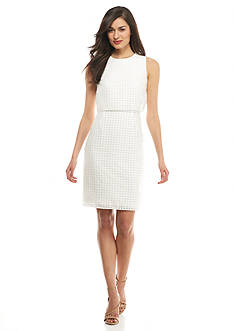 Calvin Klein Sleeveless Popover Dress