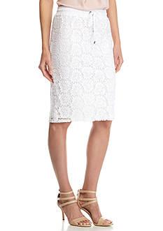 Calvin Klein Lace Drawstring Skirt