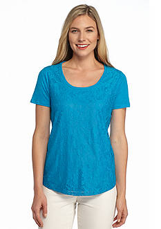 Calvin Klein Lace Front Tee