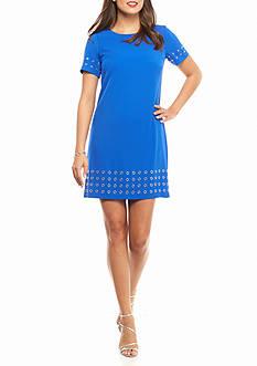 Calvin Klein Grommet Trim Dress