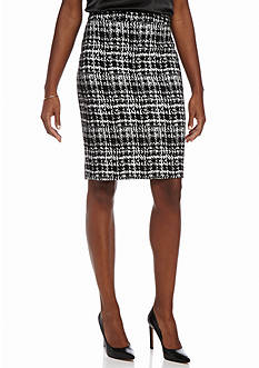 Calvin Klein Jacquard Pencil Skirt