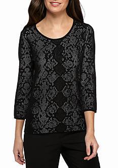 Calvin Klein Snake Detail Sweater