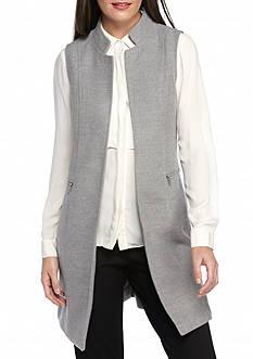 Calvin Klein Zip Pocket Long Vest