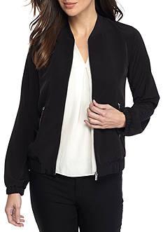 Calvin Klein Solid Bomber Jacket