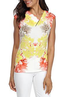 Calvin Klein Soft Floral Print Top