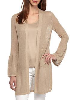 Calvin Klein Bell Sleeve Cardigan