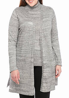 Calvin Klein Long Sleeve Duster Sweater