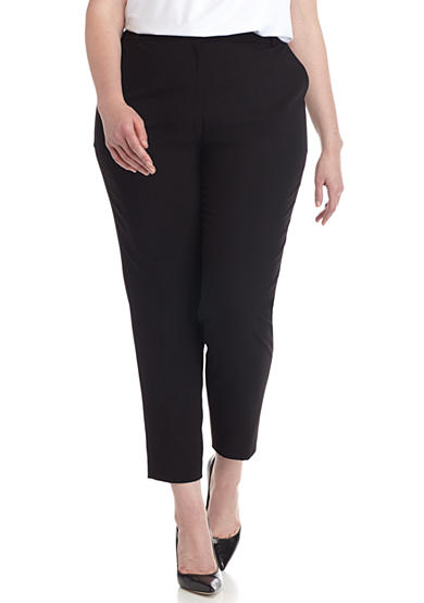 Calvin Klein Plus Size Lux Ankle Pants