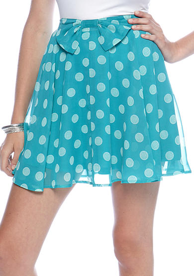 love Bow Front Skirt