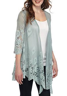 love, Fire Lace Kimono