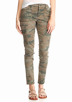 Tinseltown Camo Skinny Jeans