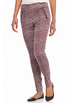 Tinseltown Static zip Pocket Skinny Trouser