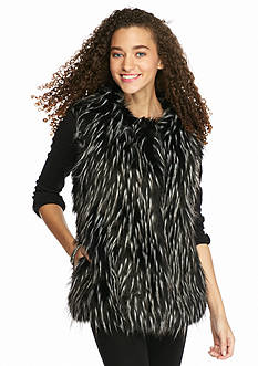 KELLY RENE Faux Fur Vest