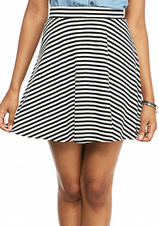 love, FIRE Rib Skater Skirt
