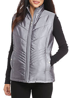 Kim Rogers Petite Size Quilted Vest