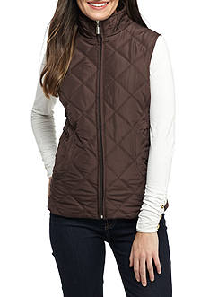 Jane Ashley Diamond Scoop Pocket Vest