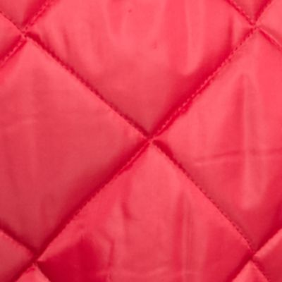 Plus Size Coats: Perisan Red Jane Ashley Plus Size Quilted Snap Pocket Jacket