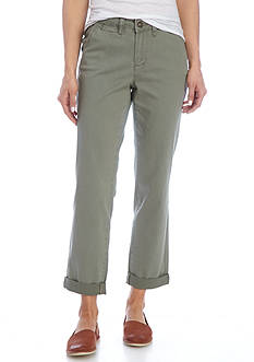 Earl Jean Straight Cuff Twill Pant