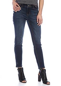 Earl Jean Skinny Ankle Dark Wash Jean