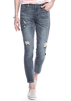 Earl Jean Skinny Ankle Medium Jeans