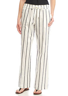 Sharagano Wide Stripe Pants