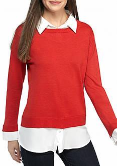 Sharagano Sweater Knit
