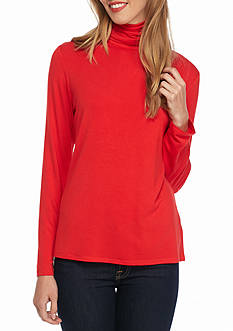 Sharagano Basic Scrunch Turtleneck
