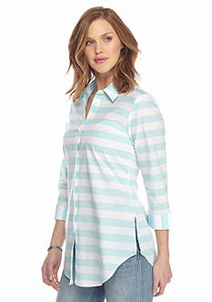 Sharagano Stripe Tunic