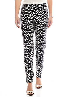 Sharagano Dot Print Millennium Pants