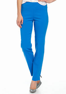 Sharagano Pull-On Slim Leg Pants