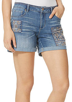 Vintage America Blues Claudia Embroidered Bestie Short