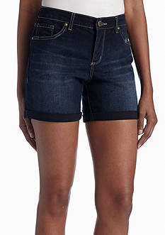 Vintage America Blues Boho Rolled Short