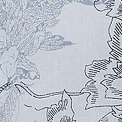 Tan/khaki Womens Tops: Colonial Blue Combo Vintage America Blues Oak Print Roll Tab Sleeve Top