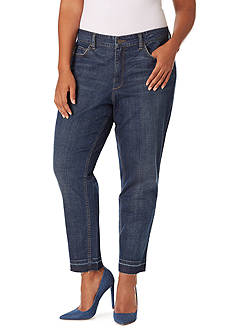Vintage America Blues Plus Size Slim Boyfriend Jean