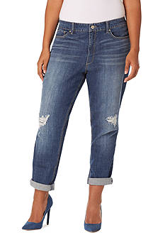 Plus Size Straight Leg Jeans | Belk