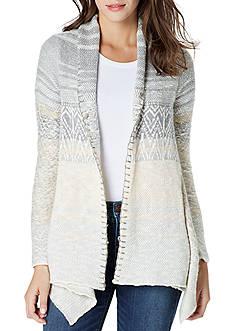 Vintage America Blues Arleen Jacquard Flyaway Sweater