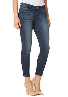 Vintage America Blues Boho Skinny Ankle Jean
