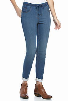 Ruby Rd Blues Pull-On French Terry Denim
