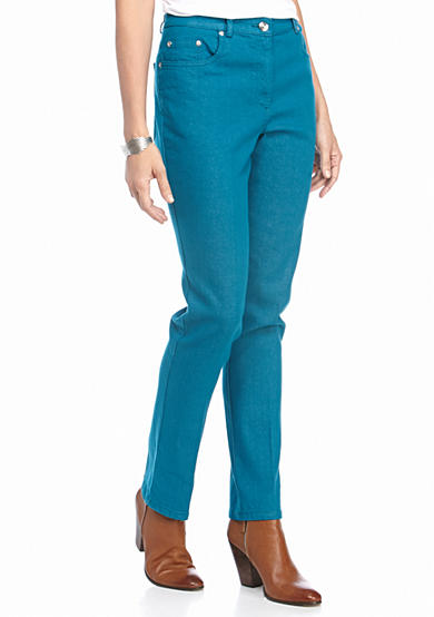 Ruby Rd Well Traveled Flexible Front Stretch Denim