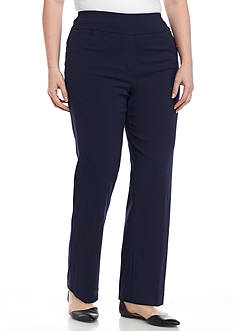 Ruby Rd Plus Size Millennium Pull-On Pants
