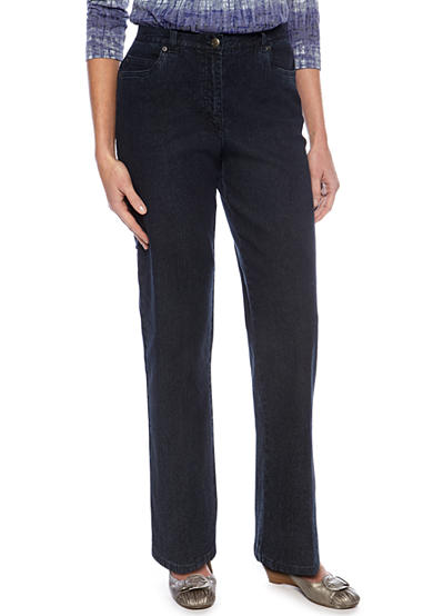 Ruby Rd Key Items Side Elastic Jeans