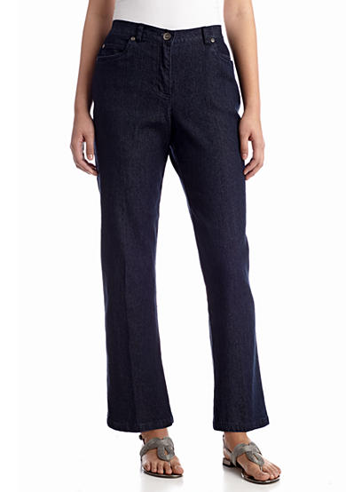 Ruby Rd Petite Key Items Side Elastic Jean