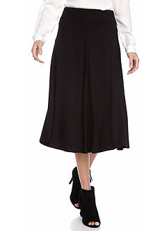 Ruby Rd Modern Knits Solid Knit Skirt