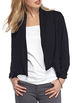 Ruby Rd Petite Open Front Cardigan