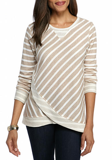Ruby Rd Sporty Chic Long Sleeve Top