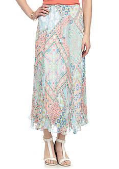 Ruby Rd Ti Amo Yoryu Broomstick Skirt